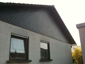 Fassadenbekleidung Dachgiebel